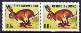 ** Tchécoslovaquie 1966 Mi 1664 Type I+II (Yv 1526), (MNH) Type I+II Se Tenant - Czechoslovakia