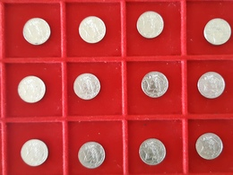 Lot De 12 Pièces De 10 Francs Jimenez 1986 TTB A SUP - Monnaies & Billets