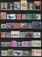 BRITISH COMMONWEALTH---Collection Of USED DL-623 - Collections (without Album)