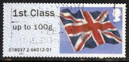 GB 2013 - 16 QE2 1st Post & Go Union Flag ( E611 ) - Great Britain