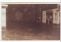 Cpa  Photo Non Située Innondations - Lieux