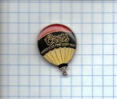 Pin's Pins / BIERE Light  COORS - America's Finelight BEER (  Montgolfière époxy  ) - Bière