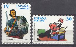 Spain 1996 - Comics Ed 3435-36 (**) - 1931-Hoy: 2ª República - ... Juan Carlos I