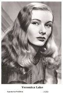 VERONICA LAKE - Film Star Pin Up PHOTO POSTCARD - 27-43 Swiftsure Postcard - Postcards