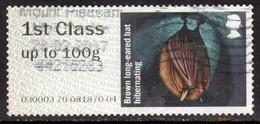 GB 2016 QE2 1st To 100gms Post & Go Hibenating Long Earred Bat ( D1006 ) - Great Britain