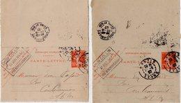 TB 2343 - Entier Postal - Emile COLLIN Au PRE SAINT GERVAIS - MP PANTIN 1907 Pour COULOMMIERS - Postal Stamped Stationery
