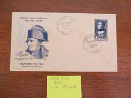 FRANCE N°896 SUR FDC 1951 COTE 170 EUROS VOIR SCAN - 1950-1959