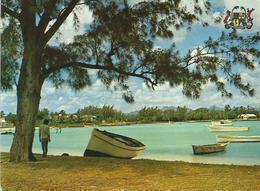 Mauritius 1973 Marne Brabant Grande Baie Shell Viewcard - Mauritius