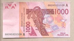 Costa D'Avorio - Banconota Circolata Da 1000 Franchi P-115Af - 2008 - Côte D'Ivoire