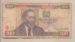 Kenia - Banconota Circolata Da 100 Scellini P-48e-2 - 2010 - Kenia