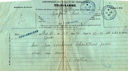 TB 2346 - Télégramme - PRE SAINT GERVAIS ( PARIS ) MP COULOMMIERS Cachet Bleu 1907 - Marcophilie (Lettres)