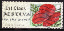 GB 2015 QE2 1st To 100gms Post & Go Common Poppy  ( G531 ) - Great Britain