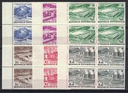 Österreich / Austria 1962, Elektrizitätswirtschaft **, MNH, Block Of 4 - 1945-.... 2. Republik