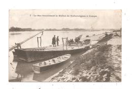 Le Bac Traversant Le Rhône De Vallabrègues à Comps- Voiture Ancienne-(C.6555) - Unclassified
