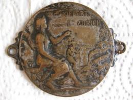 Suisse Médaille Offert Par La Compagnie ZURICH, Par F.P. GASSERRE - Jetons & Médailles