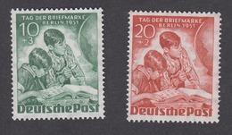 Berlin 1951 Mi.-Nr. 80-81 Postfrisch MNH** - [5] Berlin