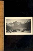 Photographie Originale : Automobile PEUGEOT 403 Et RENAULT 4CV Au Lac De  Tignes  1960 - Coches