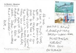 Mauritius 2007 Port Louis Regatta Sailing Shark Viewcard - Maurice (1968-...)