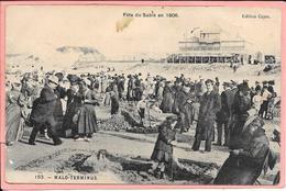 Malo Terminus - Fête Du Sable 1906- Animée - Dunkerque