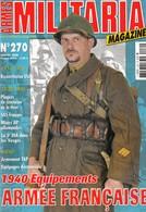 Rare Revue N°270 Militaria Magazine - 1939-45