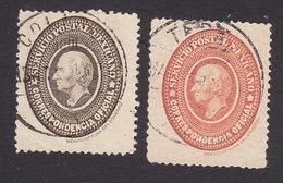 Mexico, Scott #O2-O3, Used, Hidalgo, Issued 1884 - Mexico