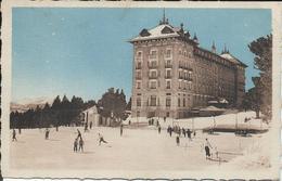 CPSM 66 - Font Romeu  Grand Hotel  Et Patinoire - Autres Communes