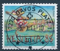 1357 / 2170 Mit Vollstempel DAVOS PLATZ - Suisse