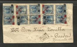 ARGENTINA 1890 COVER W/ BUZON 27 BUENOS AIRES CANCEL, GOOD POSTAGE - Covers & Documents