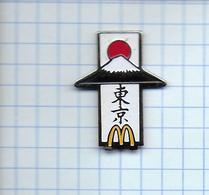 Pin's Pins / McDONALD'S McDO Mac Donalds NIPPON JAPON  Mont Fuji - McDonald's
