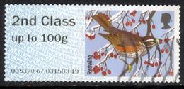 GB 2015 QE2 2nd Post & Go Redwing Bird Winter Fur & Feathers ( L977 ) - Great Britain