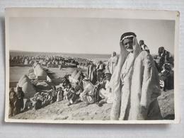 Afrique. Village Dans Le Désert. Sahara. Carte Photo - Cartes Postales