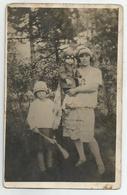 Woman,Boy,Girl Pose For Photo  Sd119-80 - Persone Anonimi