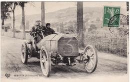63 CIRCUIT D'AUVERGNE **Coupe Gordon Bennett JENATZY Sur Sa Mercédès** - Francia