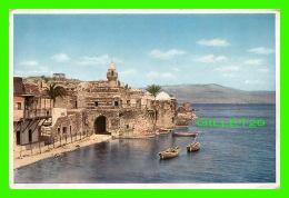 TIBERIAS, ISRAEL - UFERSTRABE VON TIBERIAS UND SEE GENEZARETH - UVACHROM A. G. - - Israel