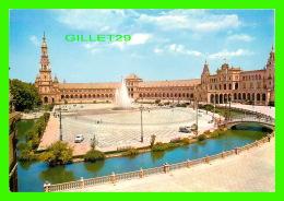 SEVILLA, SPAIN - PLAZA DE ESPANA - PLACE D'ESPAGNE -  A. SUBIRATS CASANOVAS - - Sevilla