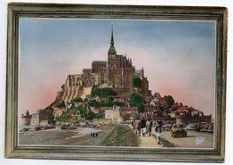 LE MONT SAINT MICHEL --L'Arrivée  (animée , Voitures) - Le Mont Saint Michel