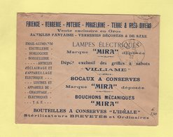 Enveloppe Illustrée - Etablissements Thevenin - Nancy - 1932 - 1877-1920: Période Semi Moderne