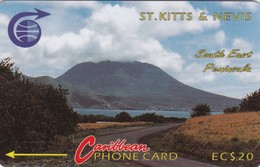 St. Kitts & Nevis, STK-3D, South East Peninsula 2, Mint, 3CSKD, 2 Scans. - Saint Kitts & Nevis