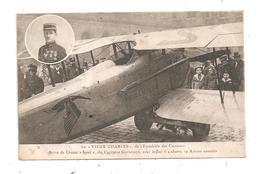 Le Vieux Charles De L'escadrille Des Cigognes-Avion De Chasse Spad- Médailles-(C.6561) - 1914-1918: 1a Guerra