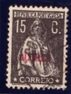 """Portugal -1923-24 CERES Selos Do Continente Com Sobrecarga """" Açores """" - 1910-... République"""