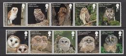 Great Britain MNH 2018 Owls - 1952-.... (Elizabeth II)