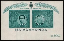 ROM SC #B148 MNH SS 1941 Vasile Arin And Ion Mota CV $75.00 - Blocchi & Foglietti