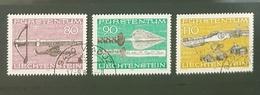 Liechtenstein 1980, Hunting Weapons, Used - Liechtenstein
