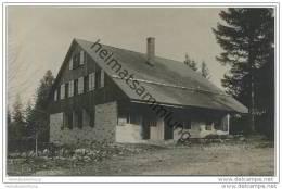 Bieler Naturfreundehütte - Près D' Orvin - Foto-AK 1925 - BE Berne