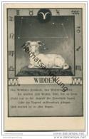 Widder 21.03. Bis 20.04. - Sternbildkarte - Horoskop - Rückseite Beschreibung Der Eigenschaften - Astronomie