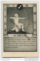 Schütze 23.11. Bis 22.12. - Sternbildkarte - Horoskop - Rückseite Beschreibung Der Eigenschaften - Astronomie