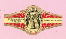 Sigarenband - St Gummaros Feesten - 1965 - LIER - Cigar Bands