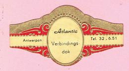 Sigarenband - Atlantic - Verbindingsdok Antwerpen - Cigar Bands