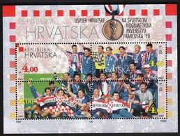Croatia 1998 / Croatia Success At The World Football Championship, France / Mint Sheet - Kroatien