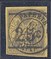 "Tahiti: Yvert N° 1°; TB; Belle Oblitération, Signé ""Calves""; Cote 540.00€ - Oblitérés"